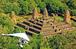 Microlight Cambodia Tour - Over Temples View Packages